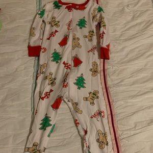 TBBC Christmas print pajamas